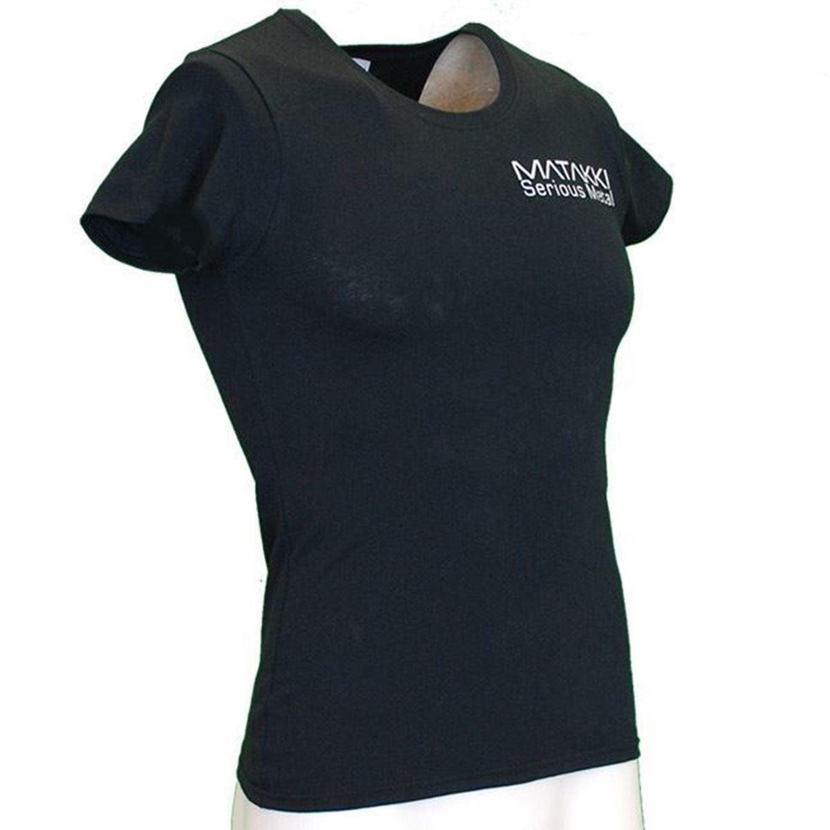 Picture of Ladies Matakki Black T Shirt