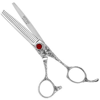 Picture of MATAKKI Vintage Ruby Professional Hair Thinning Scissors 5.5/6.0 Inches