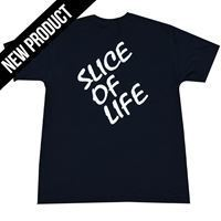 Picture of Matakki Slice Of Life T Shirt Black