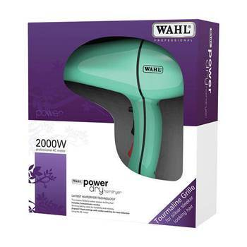 Picture of Wahl Power Dry Turquoise Hairdryer (2000w)
