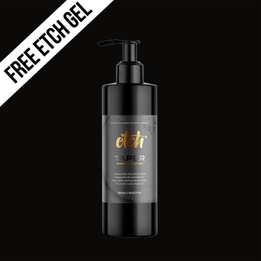 free etch shave gel with every Matakki Suraisu razor purchased